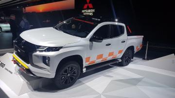 Mitsubishi l200 на Женевском автосалоне 2019
