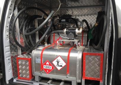 Топливозаправщик для каршеринга
